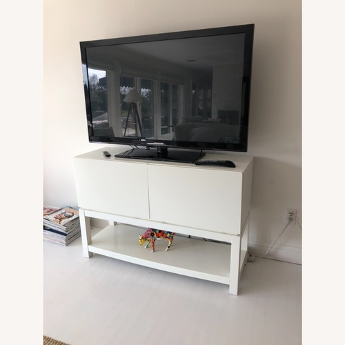 Used West Elm TV console for sale on AptDeco