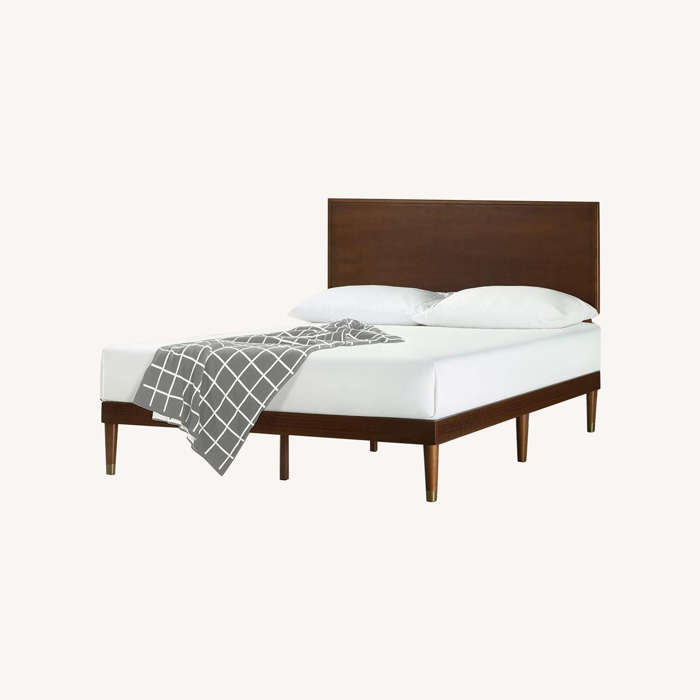 Zinus Deluxe FULL Bed with Adjustable Headboard - image-0