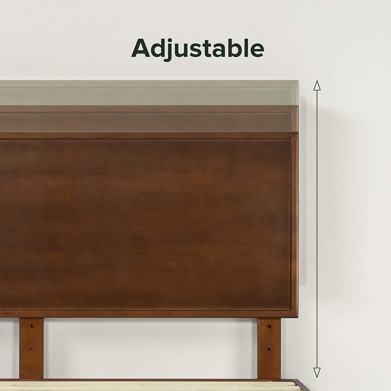 Zinus Deluxe FULL Bed with Adjustable Headboard - image-5