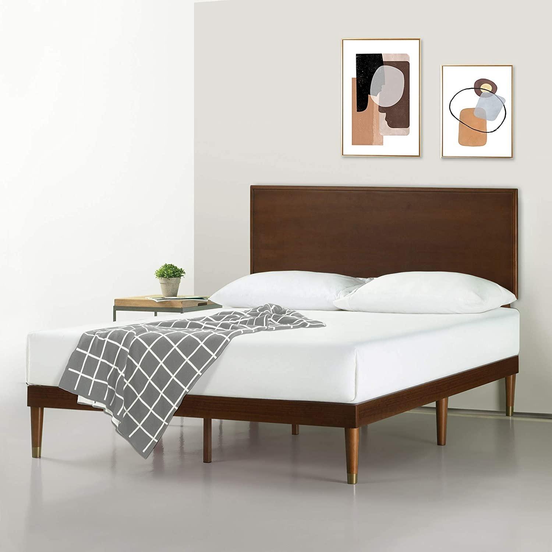 Zinus Deluxe FULL Bed with Adjustable Headboard - image-2