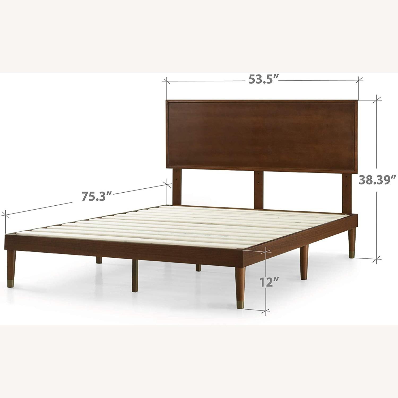 Zinus Deluxe FULL Bed with Adjustable Headboard - image-4