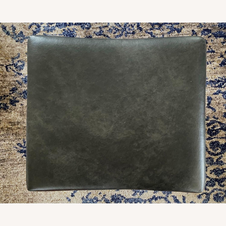 Bassett Leather Stool - image-3