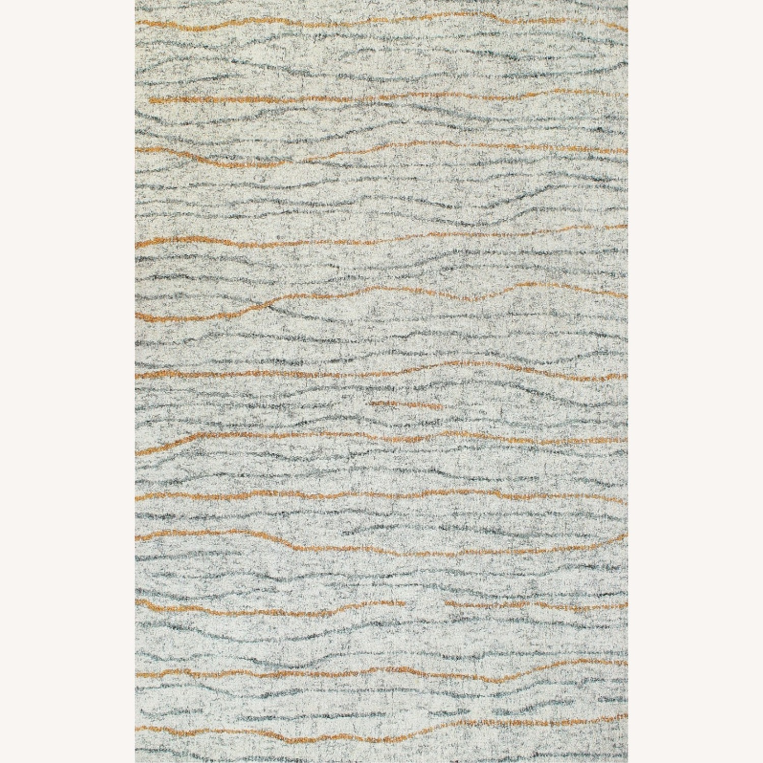 Contemporary Hand-tufted Wool Rug - image-1
