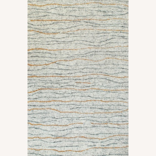 Used Contemporary Hand-tufted Wool Rug for sale on AptDeco