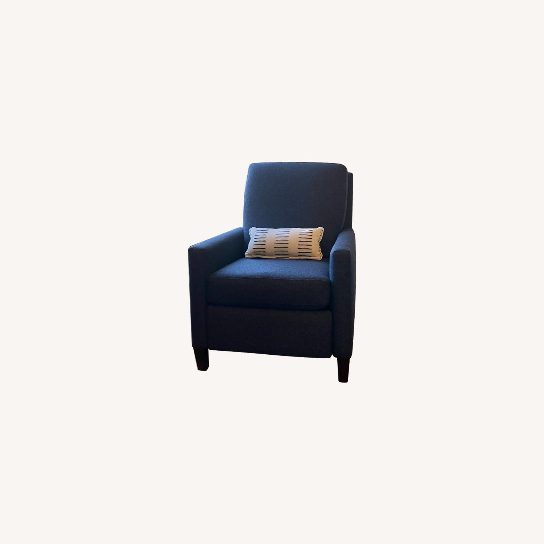 Bassett Fabric Recliner - image-0