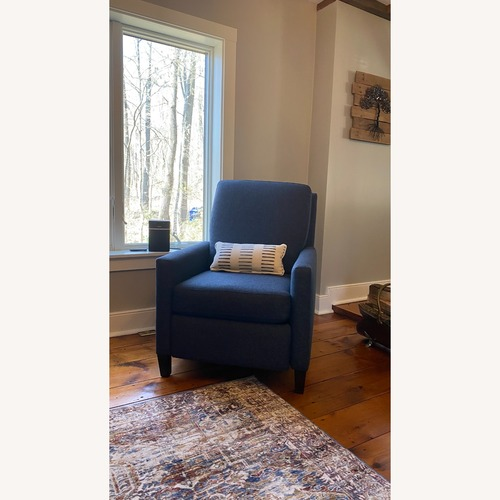 Used Bassett Fabric Recliner for sale on AptDeco