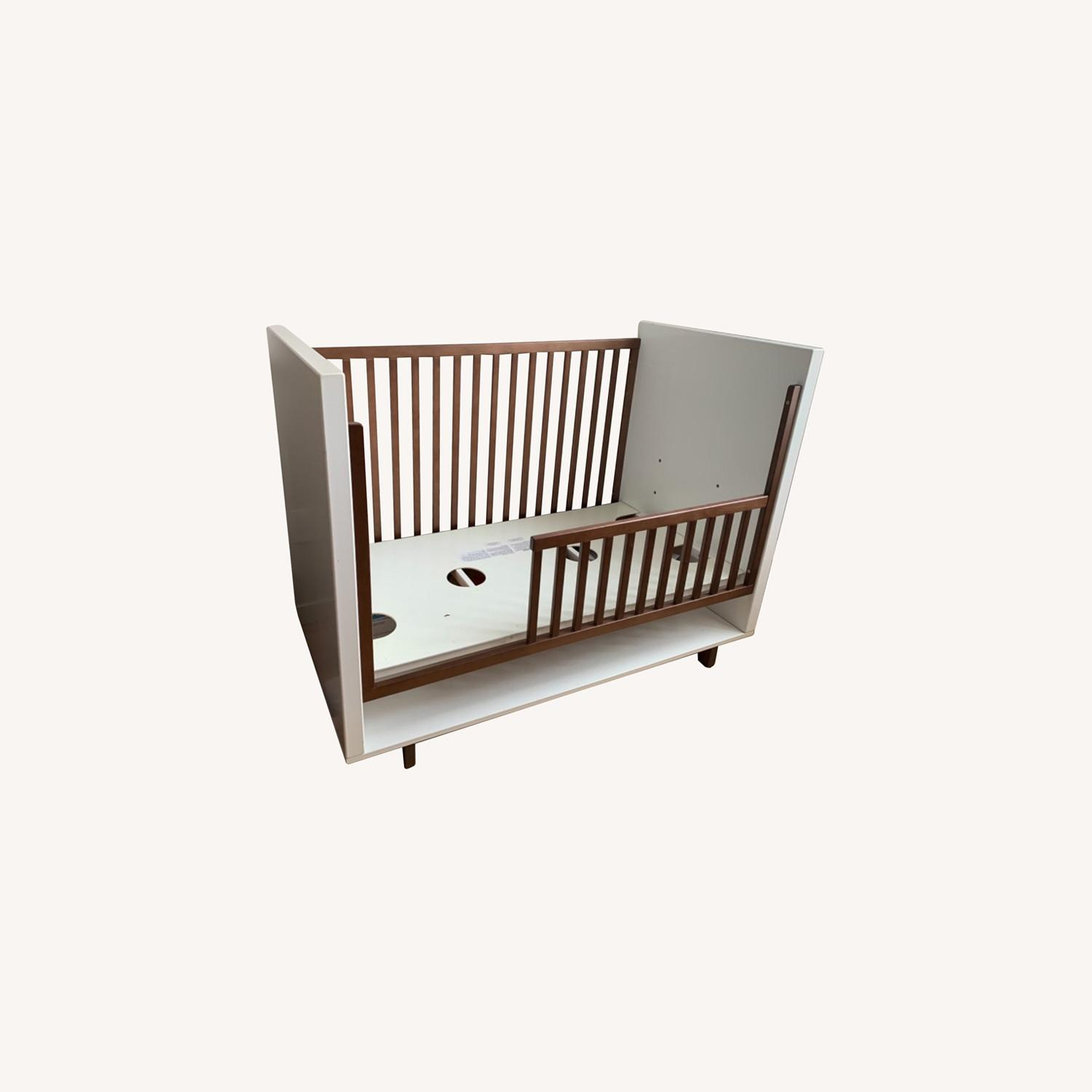 Room & Board Moda Crib and Toddler Bed - image-0