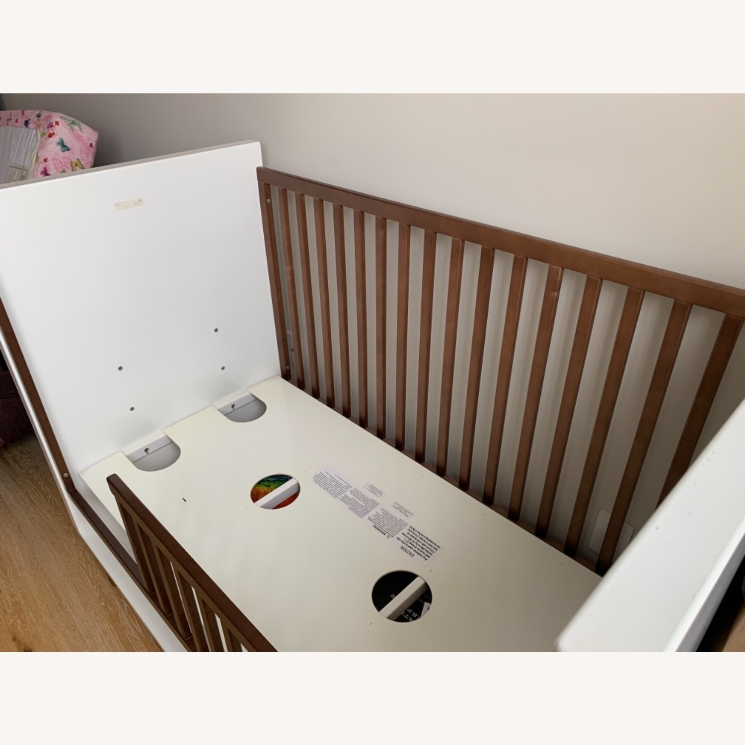 Room & Board Moda Crib and Toddler Bed - image-6