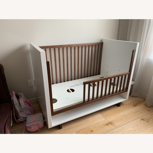 Used Room & Board Moda Crib and Toddler Bed for sale on AptDeco