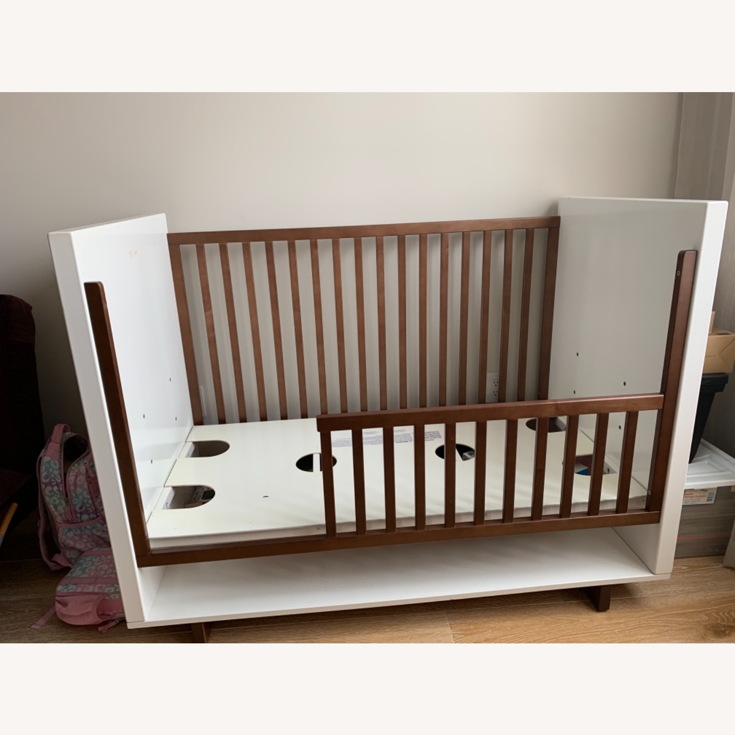 Room & Board Moda Crib and Toddler Bed - image-2