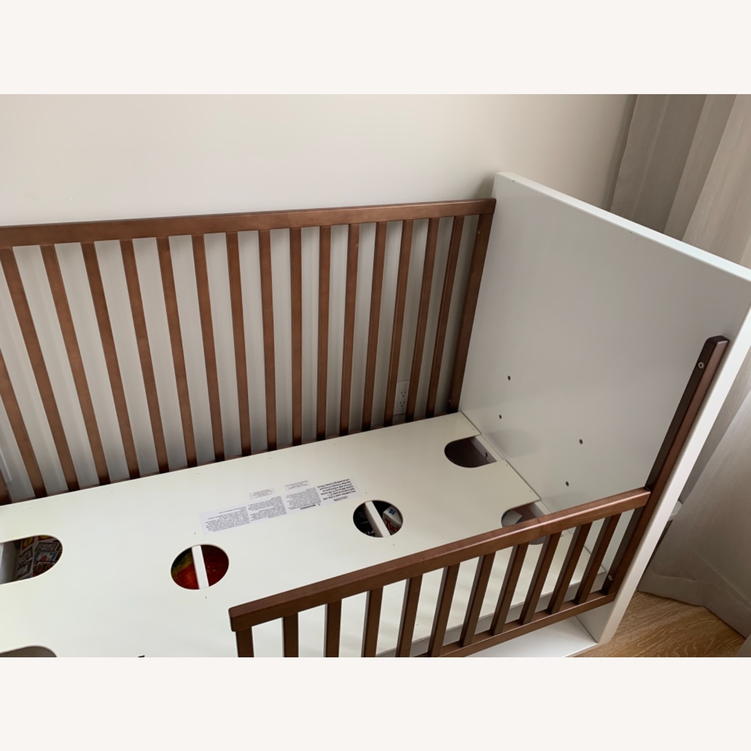 Room & Board Moda Crib and Toddler Bed - image-7