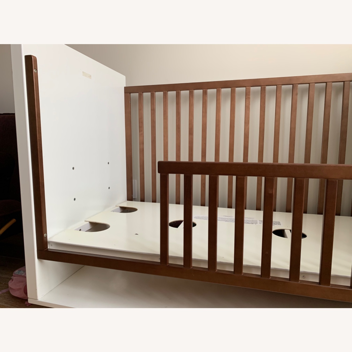 Room & Board Moda Crib and Toddler Bed - image-4