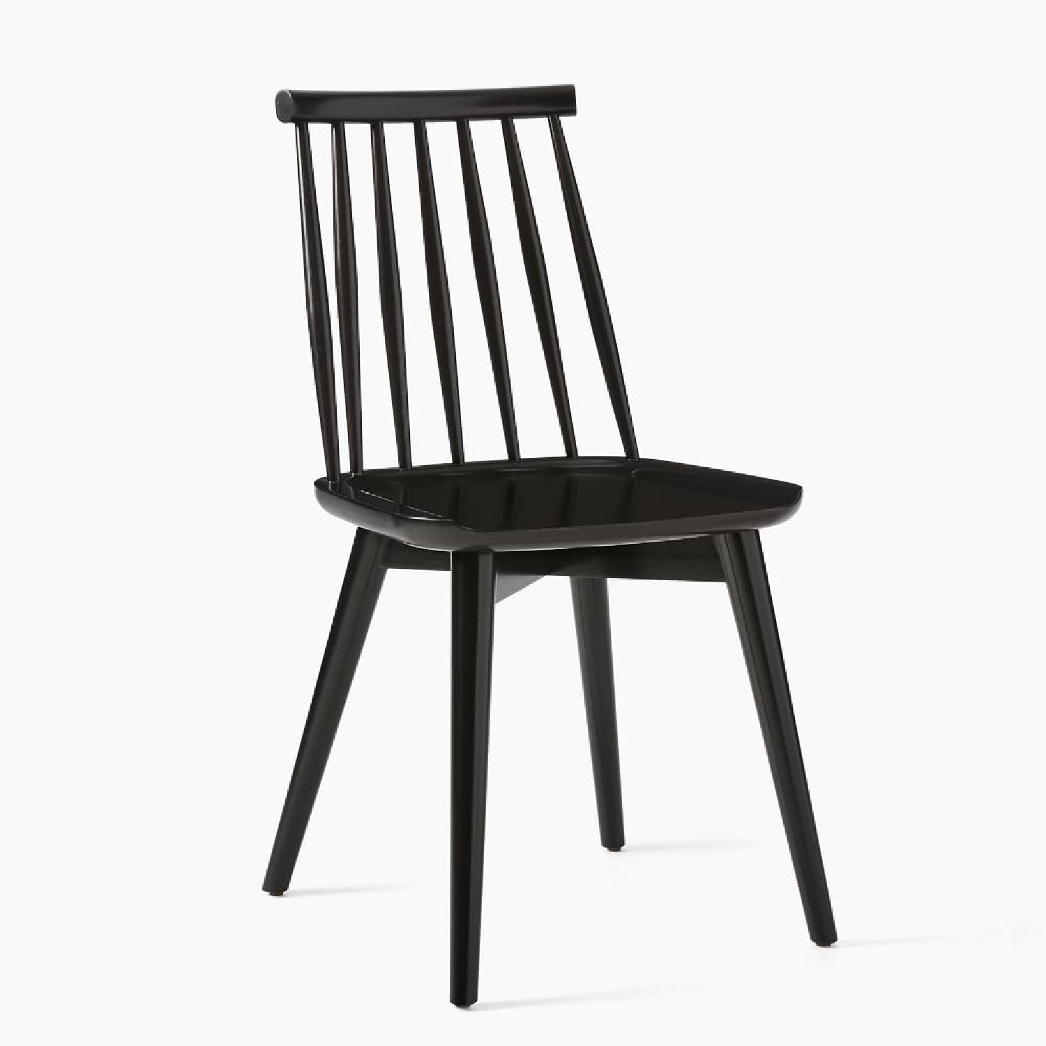 West Elm Windsor Dining Chairs - image-5