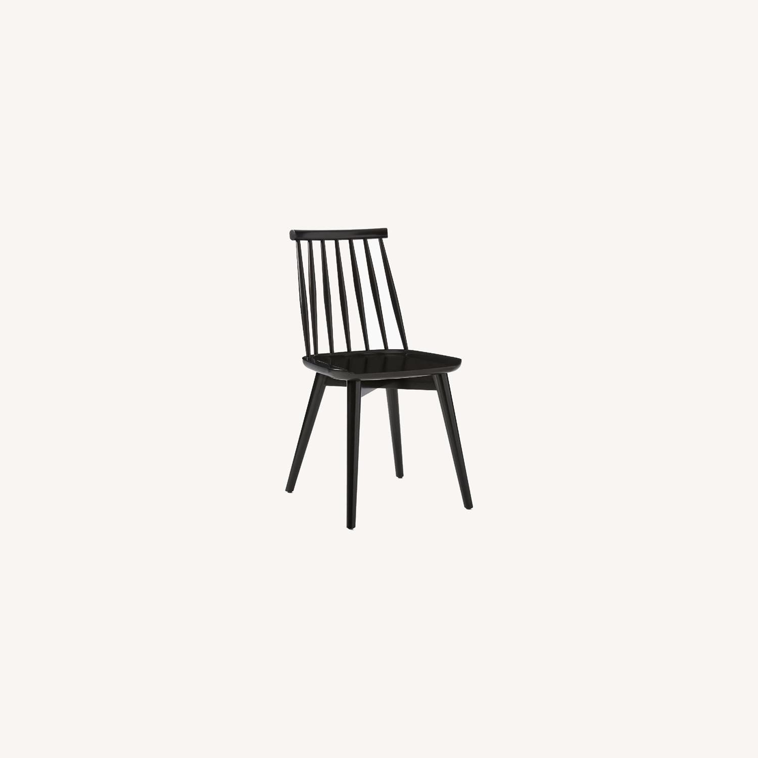 West Elm Windsor Dining Chairs - image-0