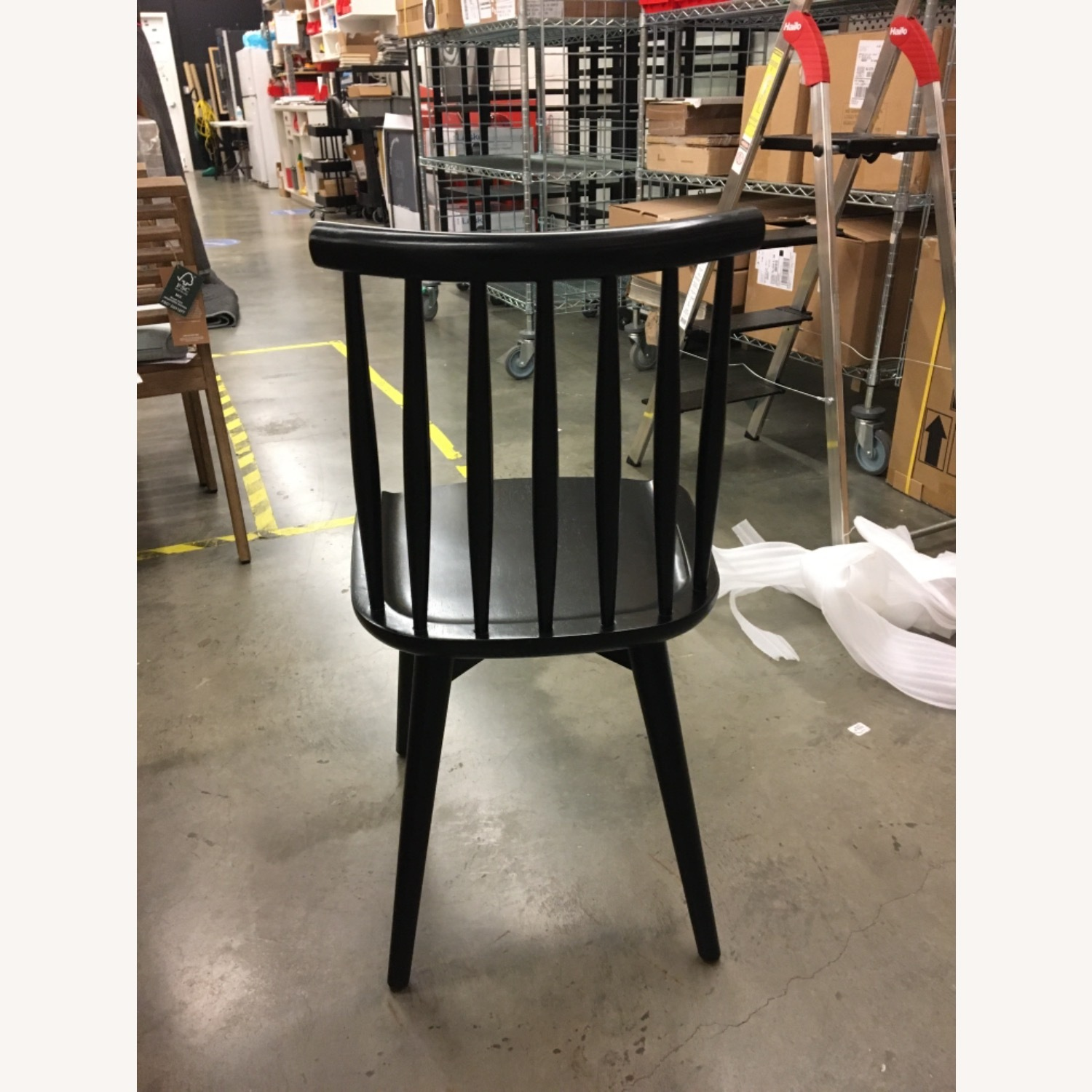 West Elm Windsor Dining Chairs - image-4