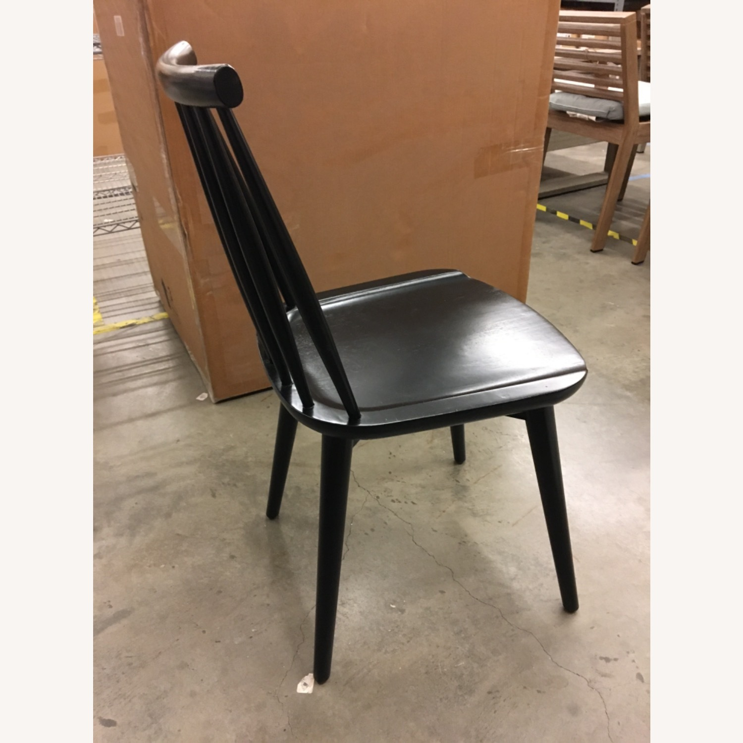 West Elm Windsor Dining Chairs - image-3