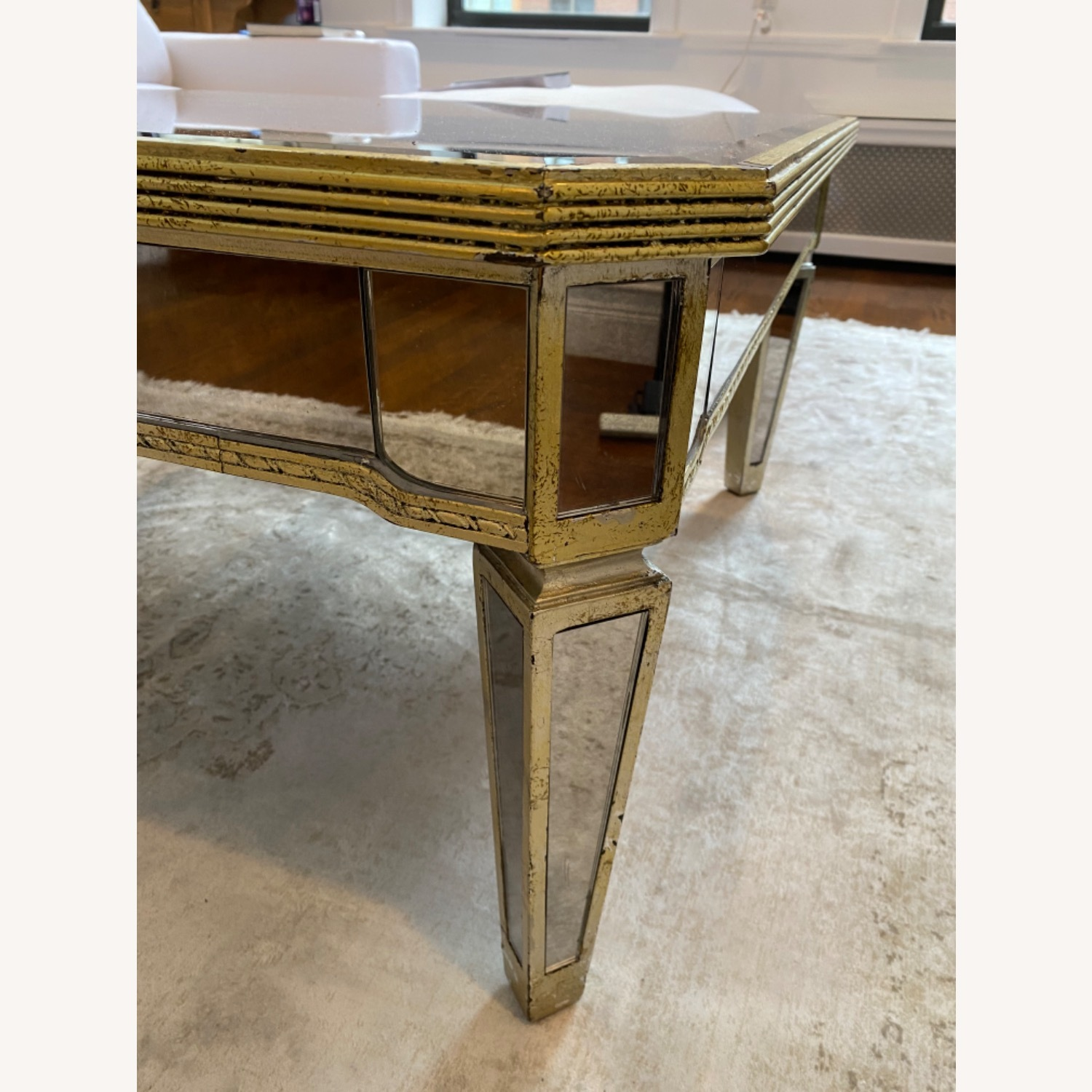 Lillian August Mirrored Coffee Table - image-3