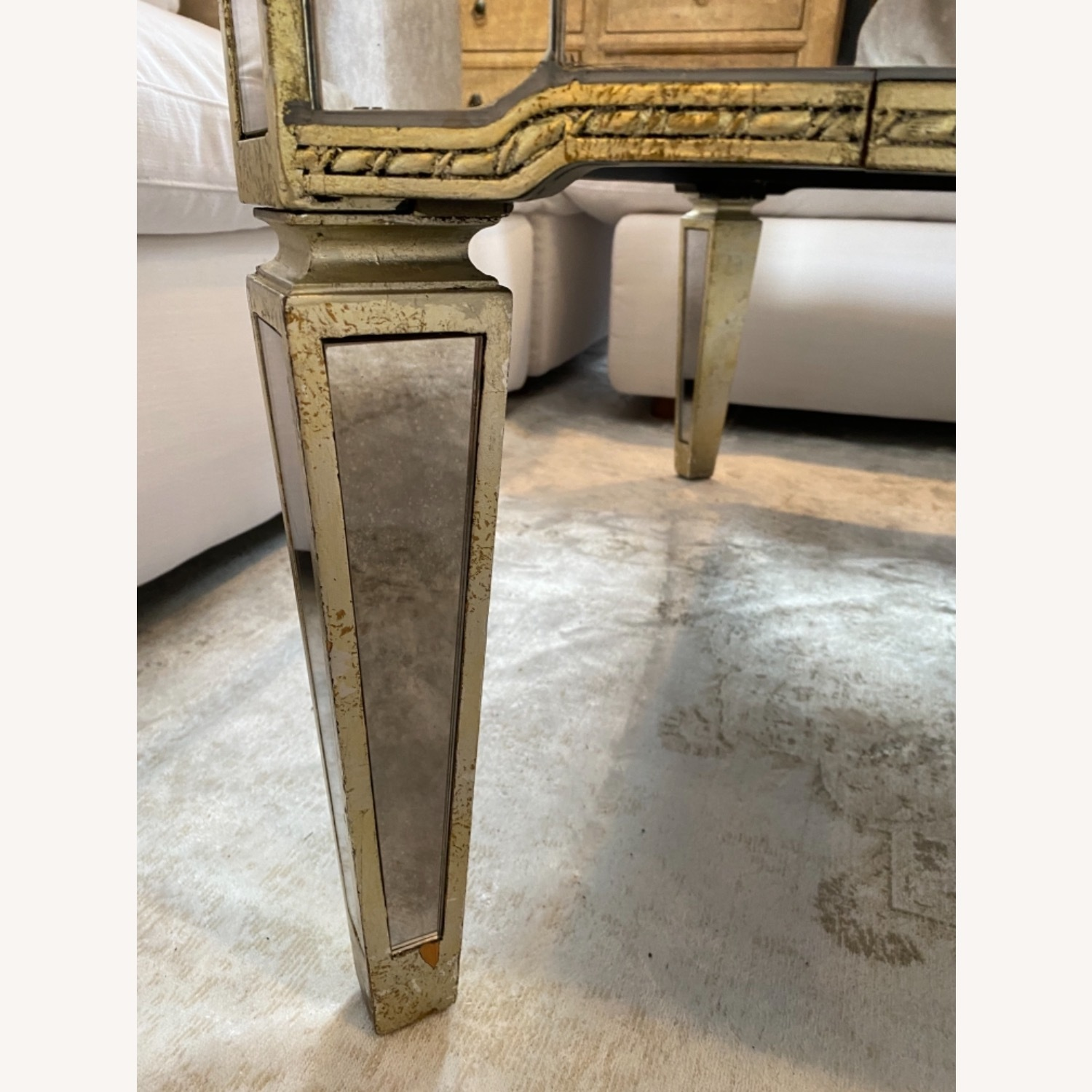Lillian August Mirrored Coffee Table - image-5