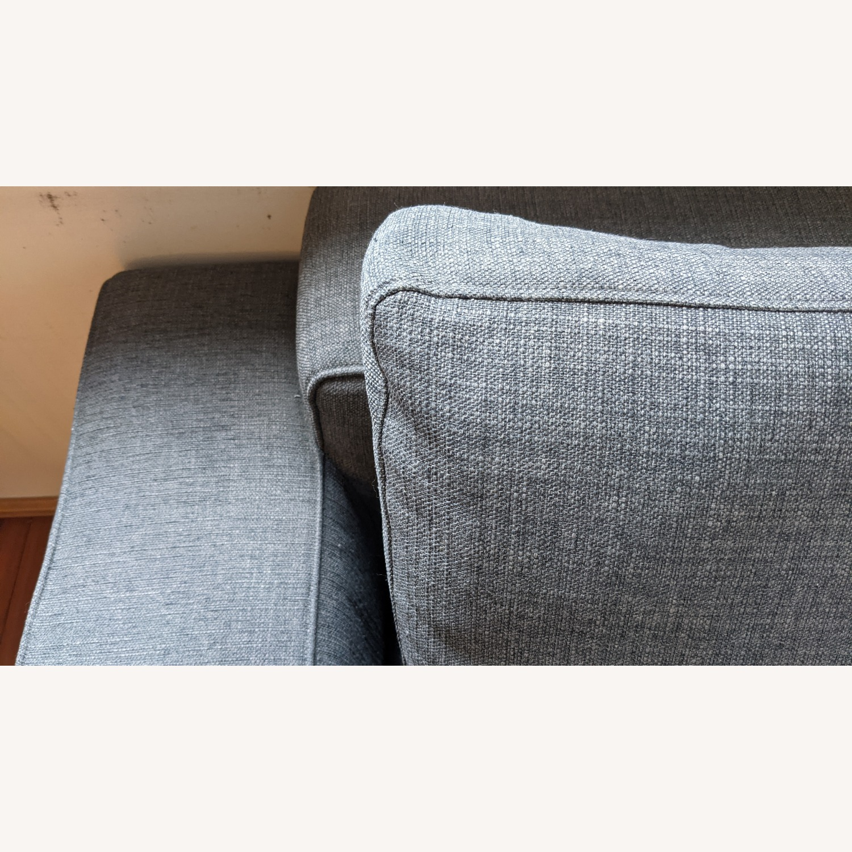 Modern Modular Sofa -Grey Fabric - image-7