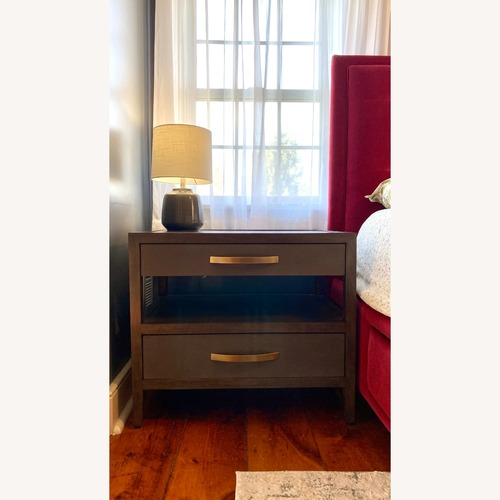 Used Bassett Modern Nightstand for sale on AptDeco