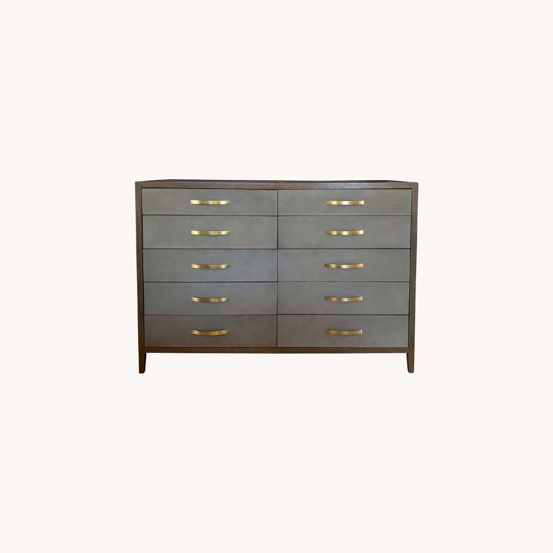 Bassett Modern 10-Drawer Dresser - image-0