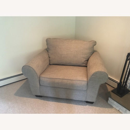 Used Ashley Furniture Comfy Sofa Chair for sale on AptDeco