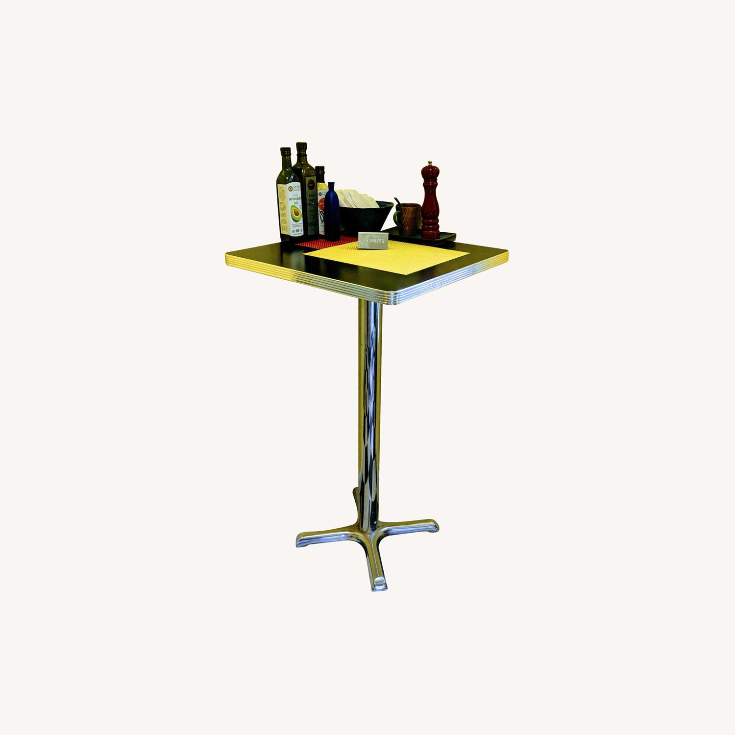 """High-top"" Corner Square Diner Table - image-0"
