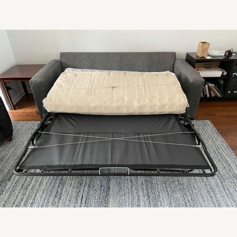"""Room & Board Metro 88"""" 3-Cushion Queen Sleeper Sofa - image-6"""
