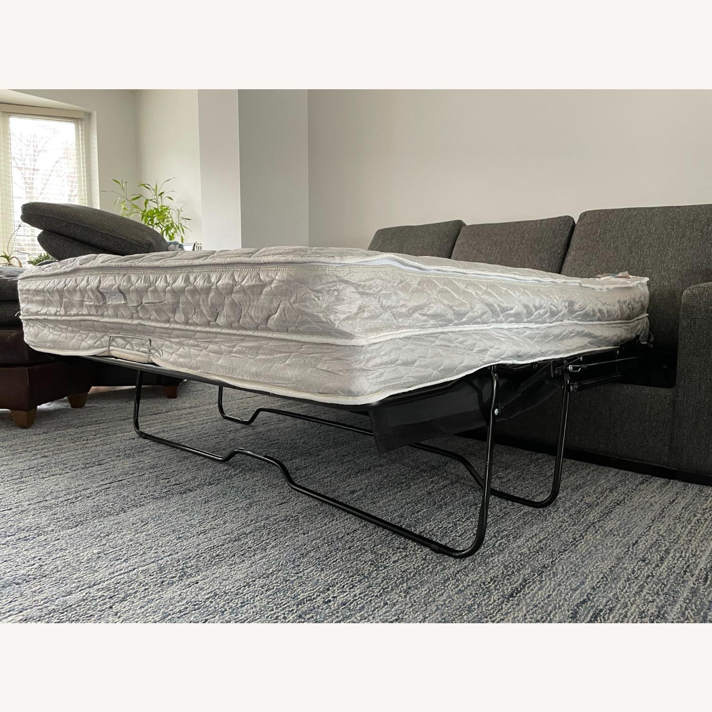 """Room & Board Metro 88"""" 3-Cushion Queen Sleeper Sofa - image-19"""
