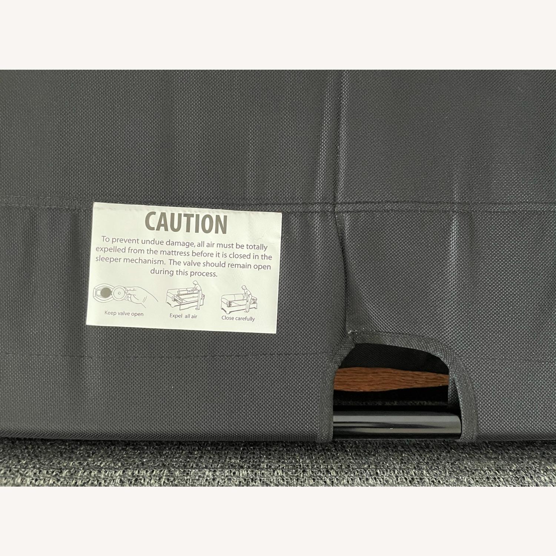 """Room & Board Metro 88"""" 3-Cushion Queen Sleeper Sofa - image-3"""