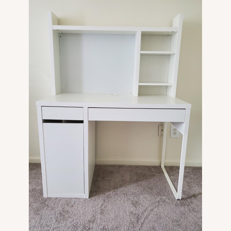 IKEA MICKE Computer Desk - image-1