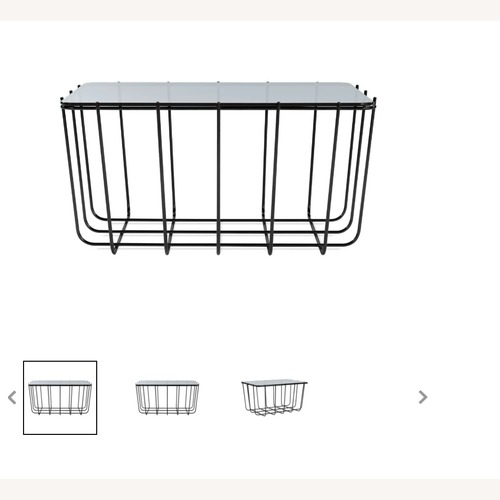 Used Blu Dot Wire Side Table for sale on AptDeco