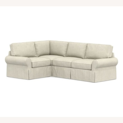 Used Pottery Barn Basic Sectional Couch for sale on AptDeco
