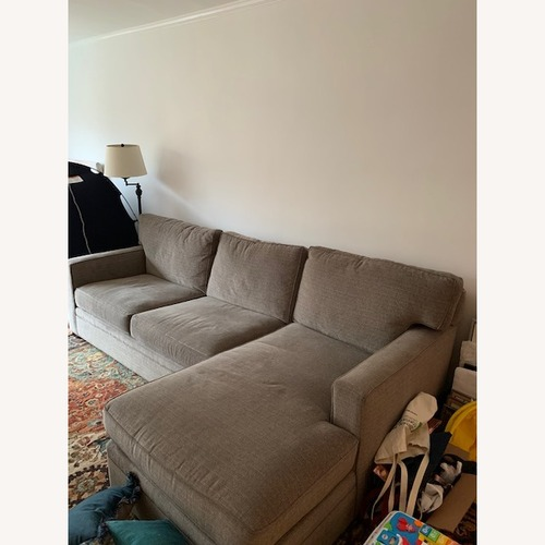 Used Macy's Right-Facing Chaise Sectional for sale on AptDeco