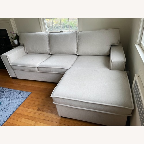 Used Bob's Discount Furniture Sectional Sofa for sale on AptDeco