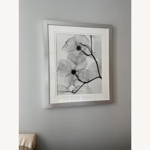 Used Z Gallerie Framed Flower X-Ray Photos for sale on AptDeco
