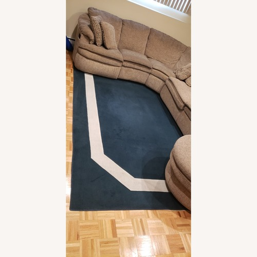 Used Emerald Green Area Rug for sale on AptDeco