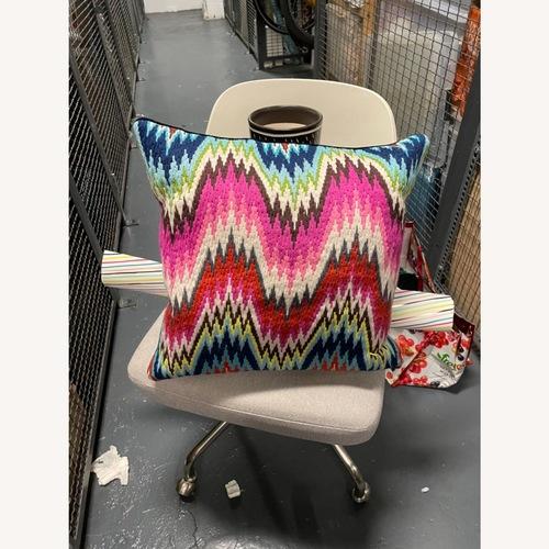 Used Jonathan Adler Needpoint Pillow for sale on AptDeco