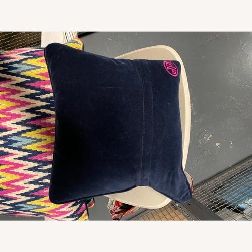 Used Jonathan Adler Needlepoint Pillow for sale on AptDeco