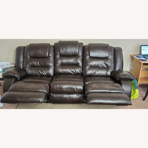 Used Ashley Furniture 3 Seater Recliner Sofa for sale on AptDeco