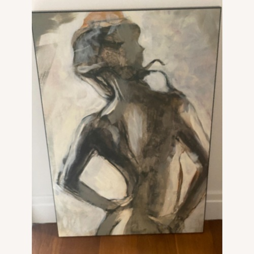 Used Modern Nude - Picasso inspired for sale on AptDeco