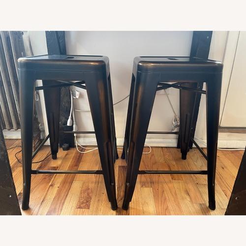 "Used 24"" Metal Bar Stools for sale on AptDeco"