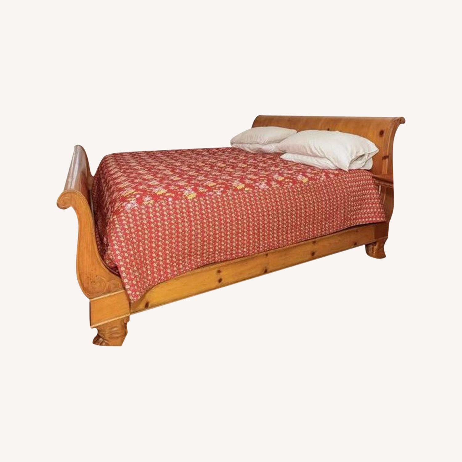 ABC Carpet and Home Sleigh Bed - image-0