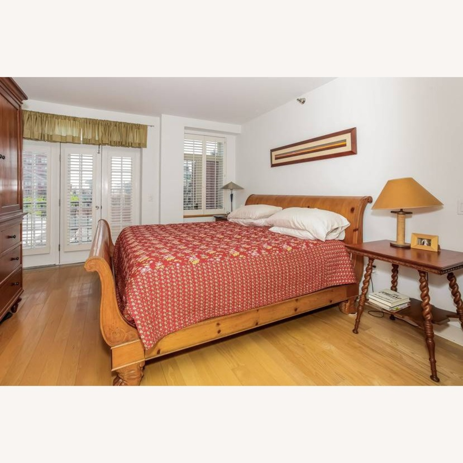 ABC Carpet and Home Sleigh Bed - image-1