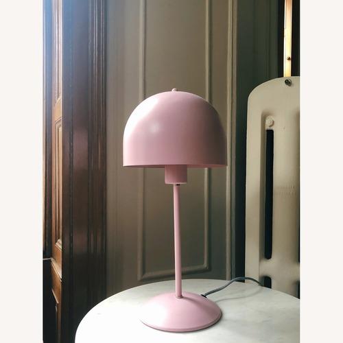 Used Dutch Pink Mushroom Lamp for sale on AptDeco