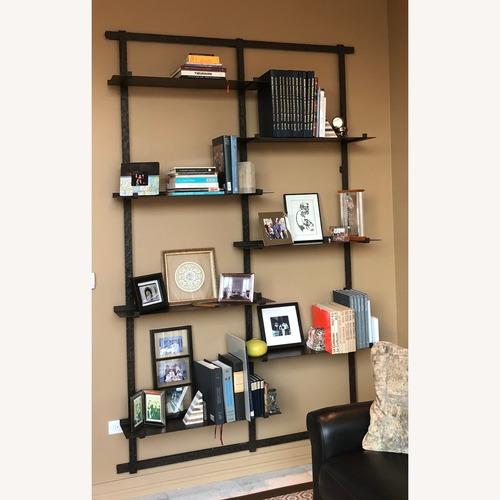 Used Hand Forged Iron Wall-Hung Bookshelf for sale on AptDeco