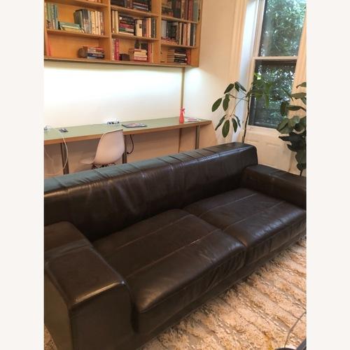Used IKEA Leather Sofa for sale on AptDeco