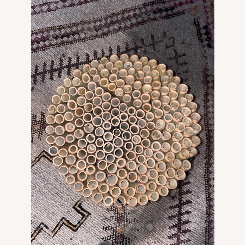 ABC Carpet & Home Bamboo Brown Stool - image-6