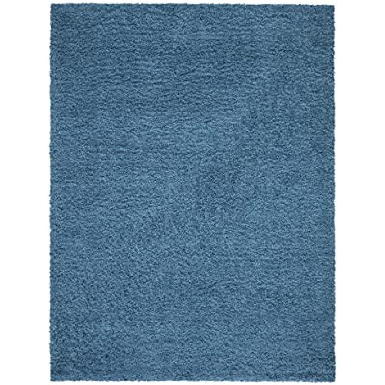 "Rugs USA 5'3"" x 7' Turquoise Shag Rug - image-5"