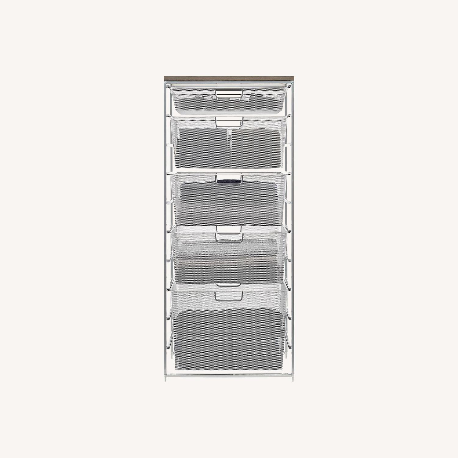 Container Store Metal Mesh Dressers - image-0